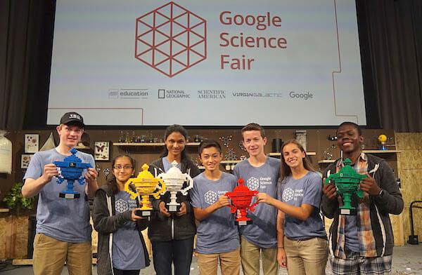 2016 Google Science Fair winners / Google+