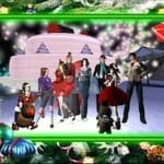 Christmas Party in Secondlife