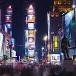 素晴らしい微速度撮影「Manhattan in motion」