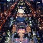 2012年 さっぽろ雪まつり開幕(2月6日〜12日)