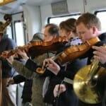 素晴らしいコペンハーゲン地下鉄のクラシック生演奏