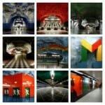ストックホルムの地下鉄は世界一長い美術館