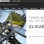 メトロポリタン美術館に人気の体験型アート Cloud City