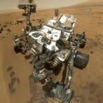 火星探査機キュリオシティの自画像を撮影、公開