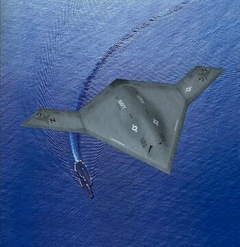 X-47B:航空母艦での運用が前提 / Wikipedia