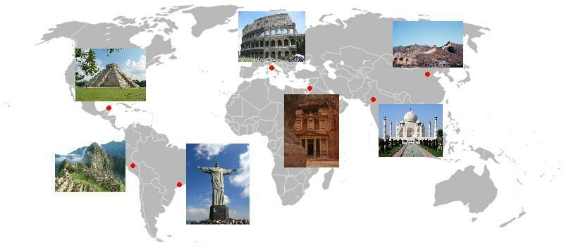New Seven Wonders of the World / Wikipedia