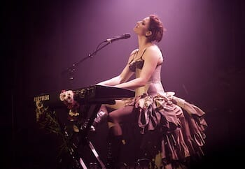 Amanda Palmer Live 2008 / Wikipedia