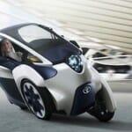 パーソナルモビリティのコンセプトカー TOYOTA i-ROAD