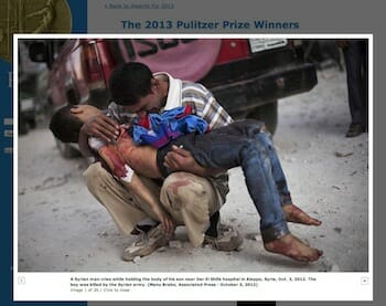 Manu Brabo, Associated Press - October 3, 2012