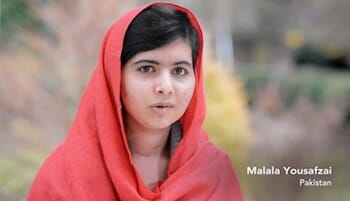 Malala Yousafzai / vitalvoices