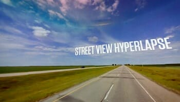 Google Street View Hyperlapse / Teehan+Lax Labs