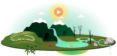 Earth Day Google Logo / Google Website