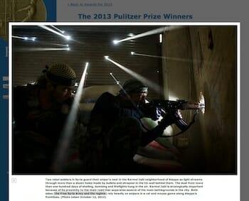 The Free Syria Army - October 18, 2012 / Javier Manzano