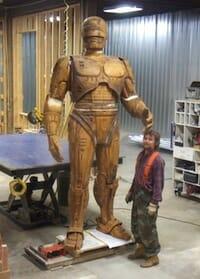 RoboCop statue project