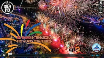 Danang International Fireworks Competition 2013 / Rob Whitworth