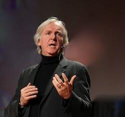 James Cameron at TED / Wikipedia