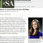 16歳の女子高生(エリフ・ビルギン)2013 Science in Action 賞