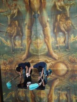 鏡を磨く / dimaccio.museum