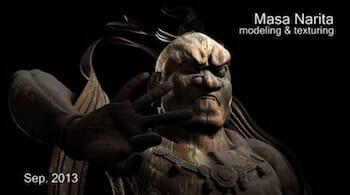 Masa Narita 2013 Demo Reel CGI VFX 3D Modeling Maya ZBrush 成田昌隆