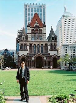 1990, トリニティ教会(Trinity Church)