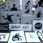 Banksy(バンクシー)さん New Yorkでゲリラアート