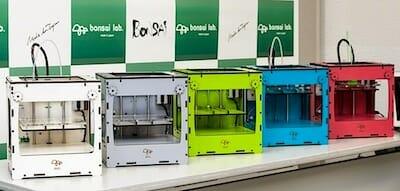 国産小型3Dプリンタ「BONSAI Mini」