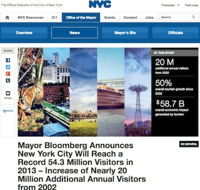 The Official Website of the City of New York