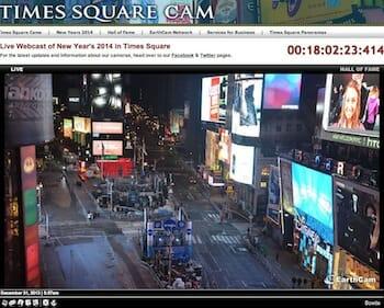 タイムズ・スクエア ライブカメラ
