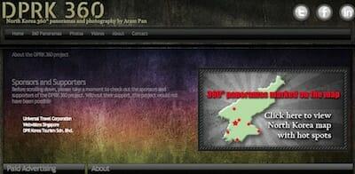 DPRK 360 Website