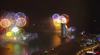 Dubai New Year Fireworks 2014 - World Record 4K / Dubai Film