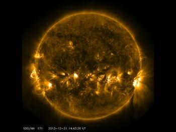Quiet Corona and Upper Transition Region of the Sun / NASA/SDO