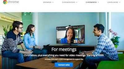 Chromebox for Meetings / Google