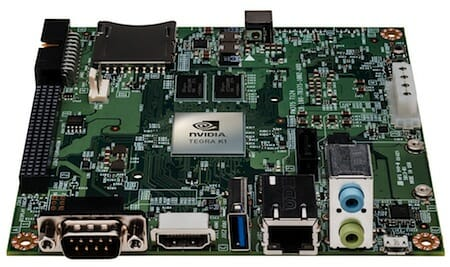 NVIDIA Jetson TK1 development kit /