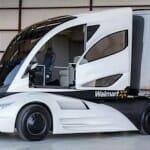 ウォールマートの近未来コンセプト大型トラック