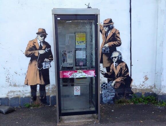 Banksy in Cheltenham / Kathryn Yengel