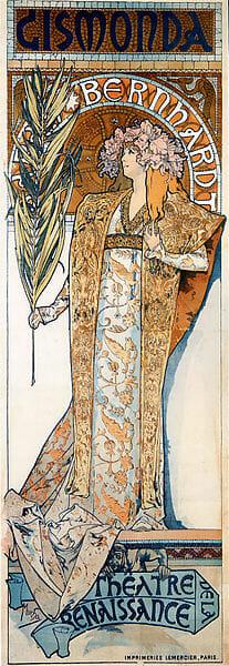 ジスモンダ・ポスター(1894) / Wikipedia