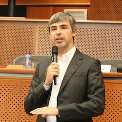 Larry Page in the European Parliament, 17.06.2009 / Wikipedia
