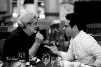 George Lucas and J. J. Abrams / Wikimedia Commons by Joi