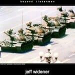 中国民主化運動の象徴:戦車男(Tank Man)