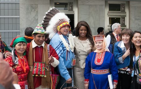 General Assembly High-level Plenary Meeting: World Conference on Indigenous Peoples / UN Photo