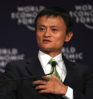 Jack Ma, 2008 at World Economic Forum / Wikipedia