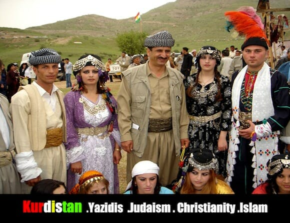 Kurdistan .Yazidis .Judaism . Christianity .Islam / jan Sefti