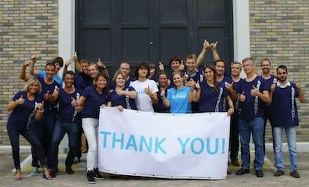 The Ocean Cleanup Team / Facebook
