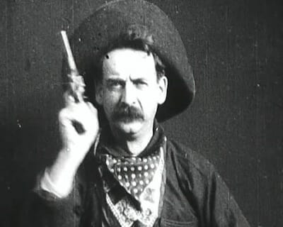 Screenshot from The Great Train Robbery (1903) / Wikipedia