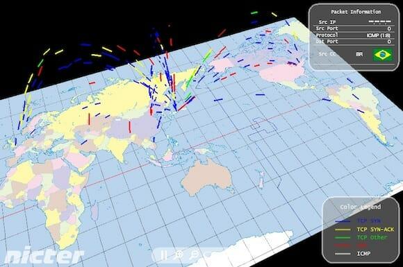 Atlas / www.nicter.jp