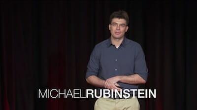 Michael Rubinstein at TEDxBeaconStreet