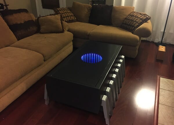 Computer Chip Infinity Coffee Table(EP-ROM)/ InfinitiTable