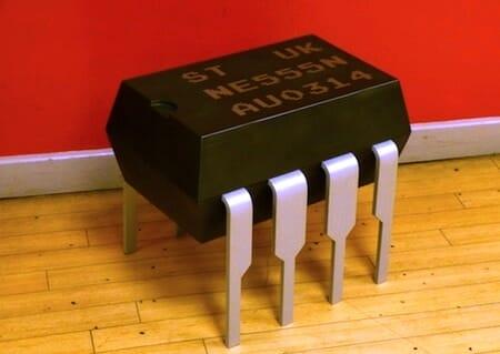 HUGE 555 Timer storage seat / too_buku