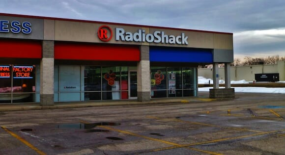 RadioShack Elyria, A typical strip-mall RadioShack store. / Nicholas Eckhart