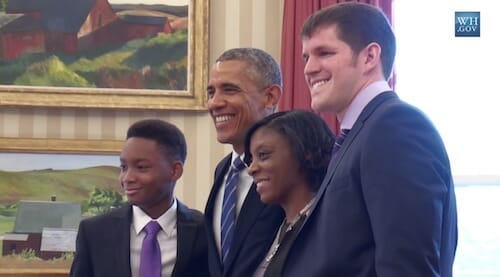 From Brownsville, Brooklyn to the Oval Office: Vidal Meets the President